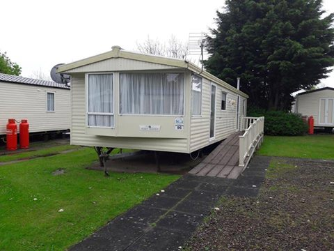 Caravan at Haggerston Castle donated for family use