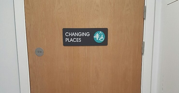 Changing Places Toilet Opening
