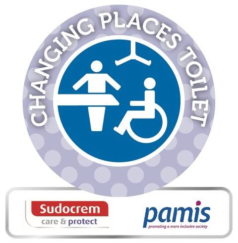 Sudocrem Changing Room Awards now has a Changing Place category
