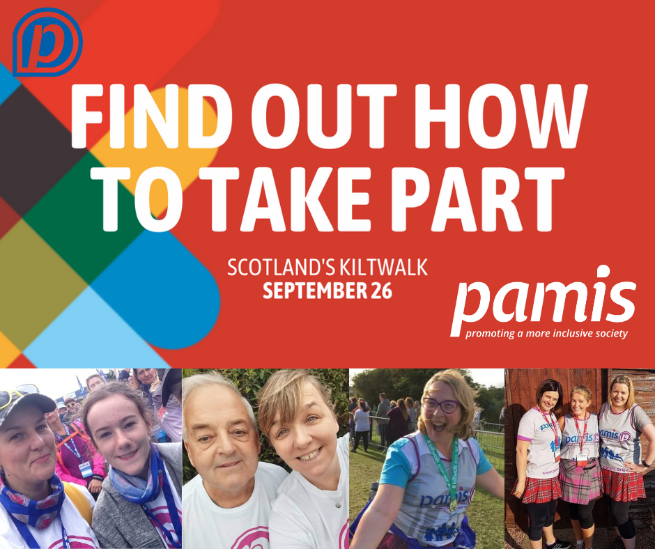 Find out how to take part in the Kiltwalk!