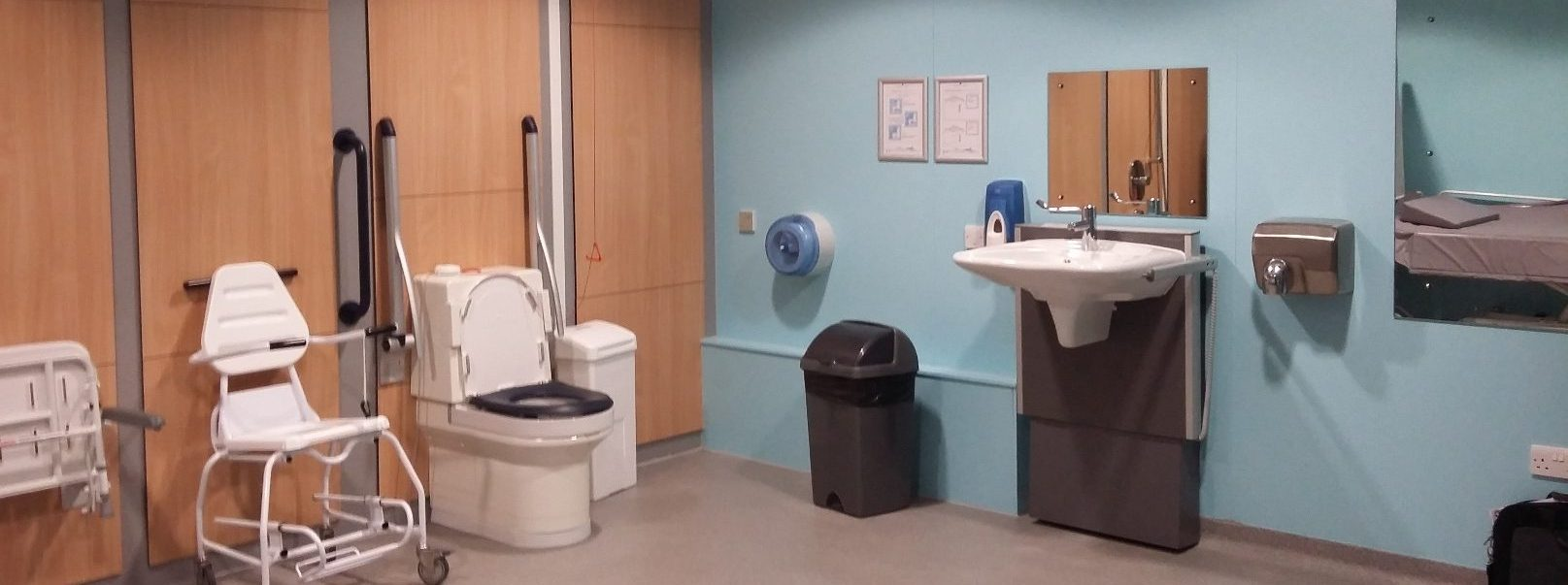Newly registered Changing Places toilet in Alford