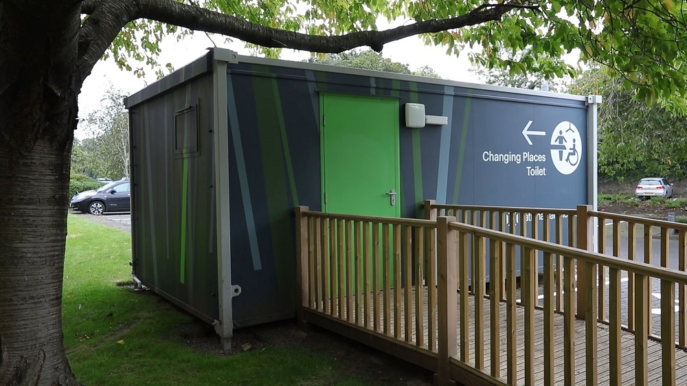 Fully accessible 'Changing Places' facility tackles isolation
