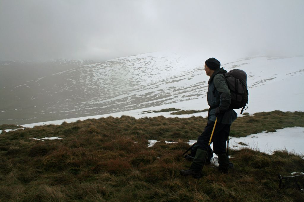 Former University lecturer takes to the hills to support PAMIS