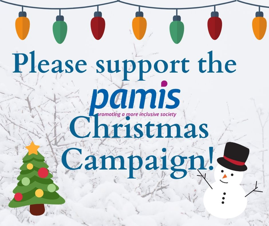 PAMIS Christmas card appeal 2019!!