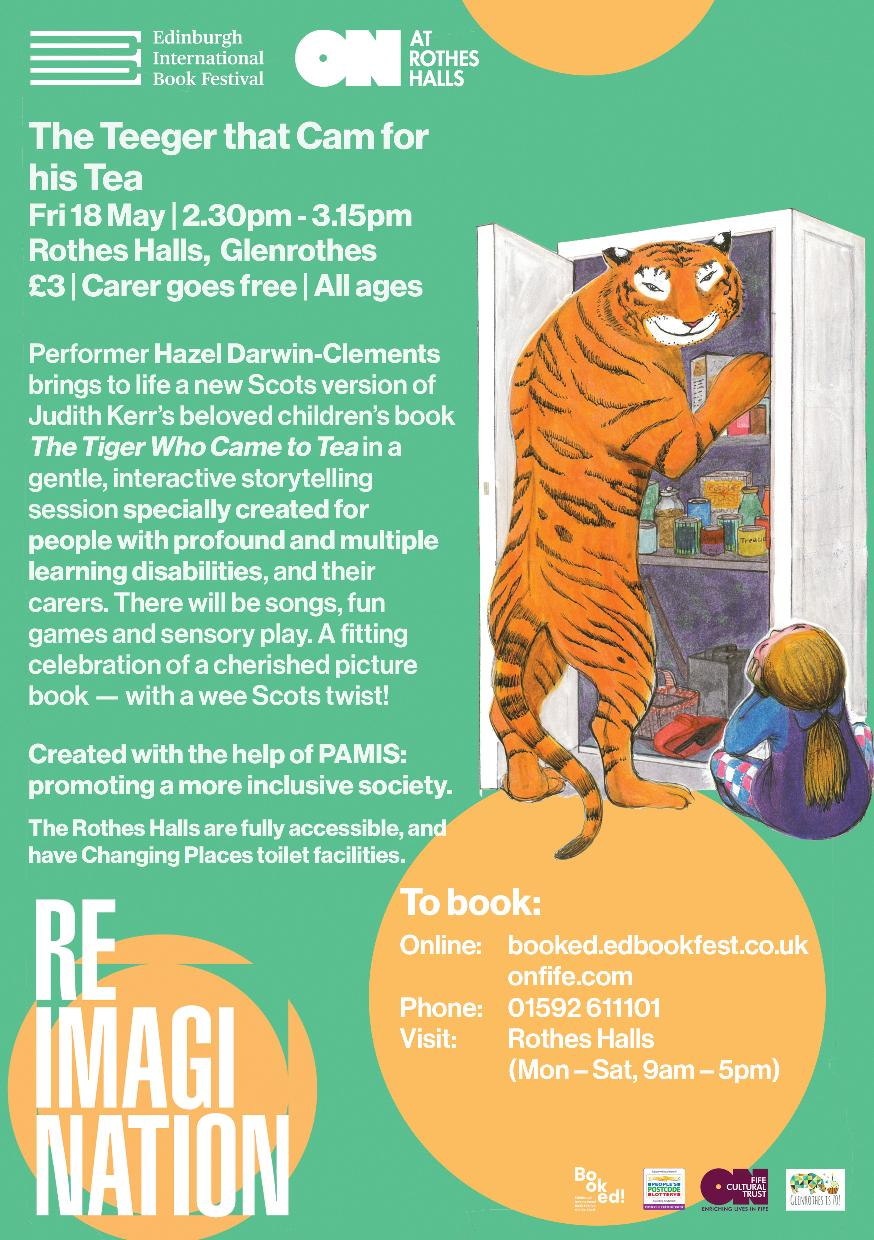 """""""The Teeger Who Cam for his Tea""""- interactive storytelling session"""